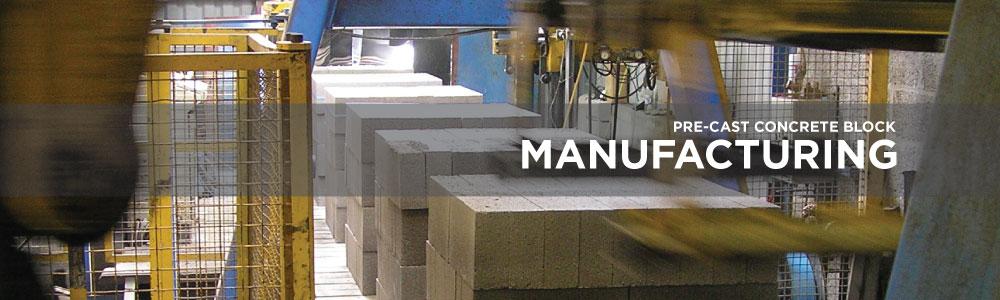Gryphonn Concrete Pre-Cast Concrete Block Manufacturing